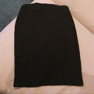 Madewell hi-line skirt